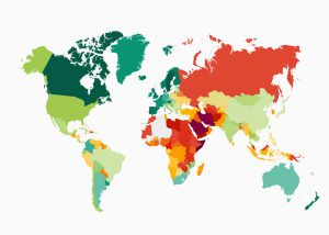 غمگین ترین کشورهای جهان